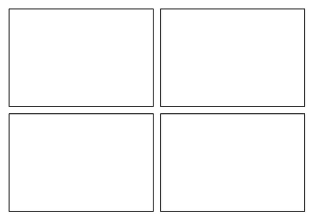 Storyboarding Template PDF