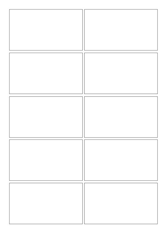 Storyboarding Template PDF 2